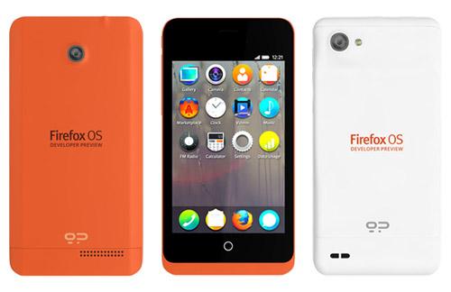 Firefox OS Developer Preview Phones.