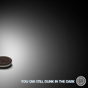 Oreo's Second Screen Marketing Response: You can still dunk in the dark.