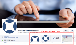 Facebook Page tabs you can use for lead generation.