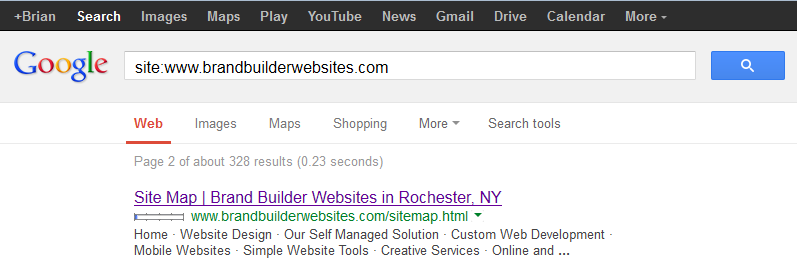 If your page descriptions are too short Google will provide an alternative.