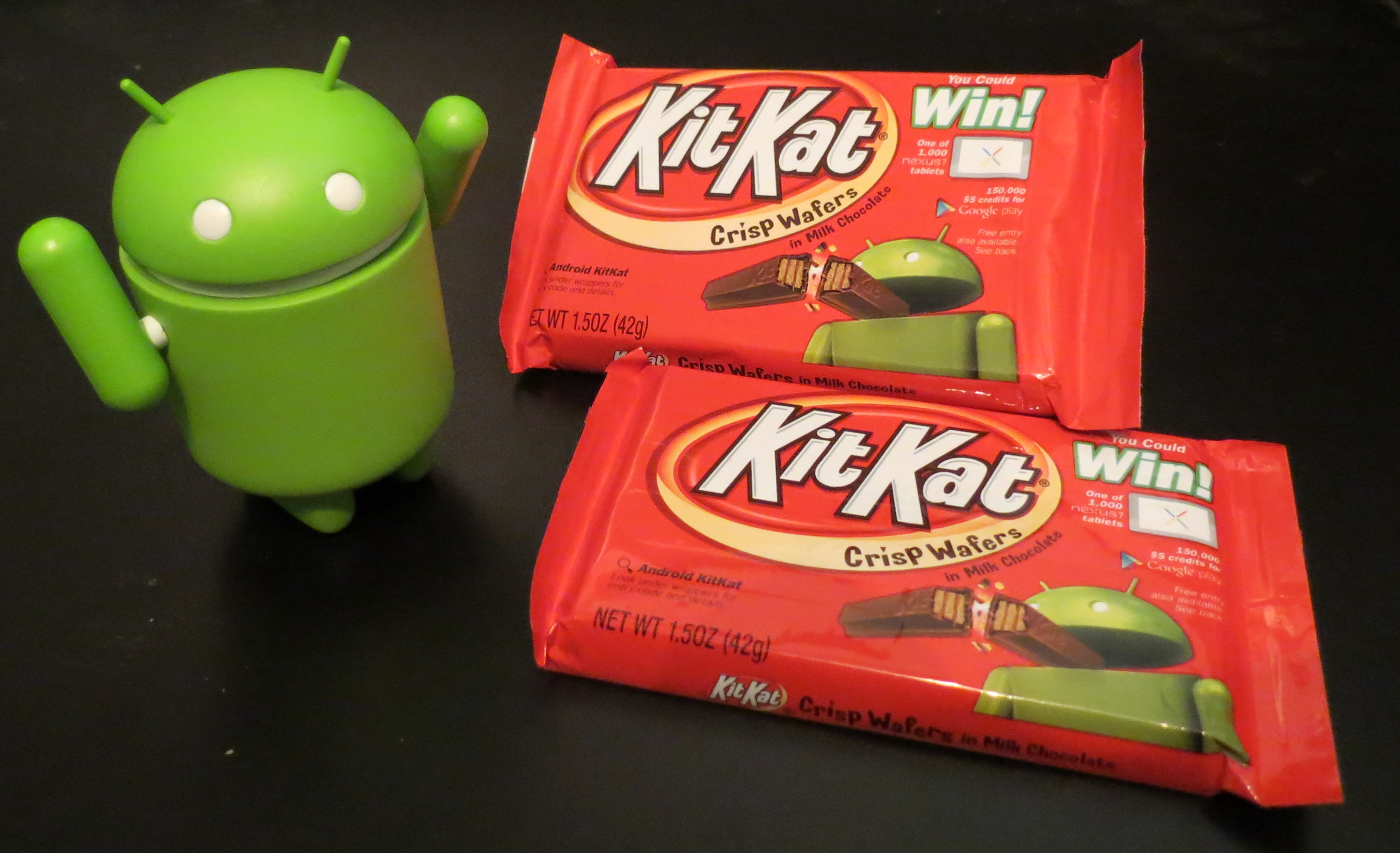 Hooray! Android 4.4 KitKat is on the way!