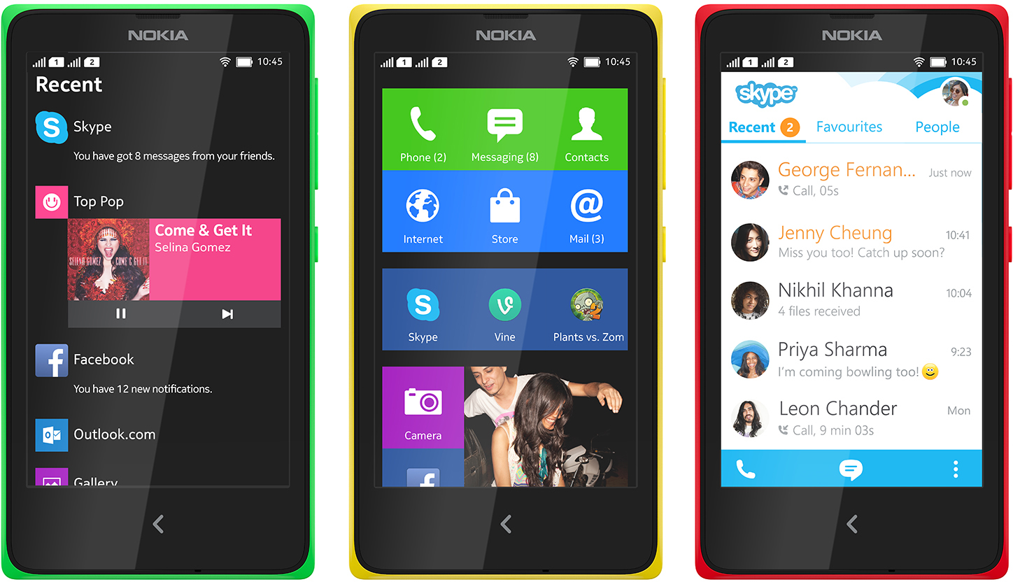 Mobile World Congress 2014: The Nokia X.