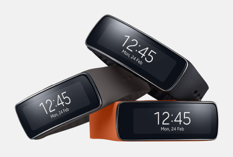 Mobile World Congress 2014: The Samsung Gear Fit.