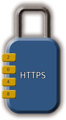 Secure websites run over HTTPS with a 2048-bit SSL.