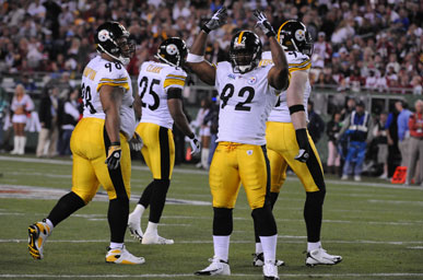 The 2008-2009 Superbowl Champions the Pittsburg Steelers